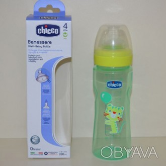 Бутылочка Chicco Well Being 250 мл, от 4 мес