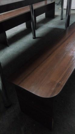 Продам большой стол (длина 2,70 м., ширина 0,80м.) со скамейками для отдыха. Иде. Сумы, Сумская область. фото 7