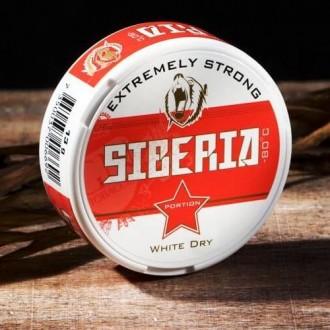Снюс siberia -80°C white dry portion snus. Днепр. фото 1