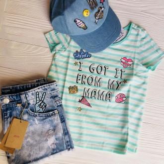 Крутые футболки #childrensplace c пайетками ❤️❤️❤️ ----------. Славянск, Донецкая область. фото 5