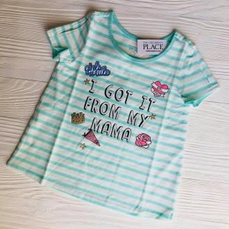 Крутые футболки #childrensplace c пайетками ❤️❤️❤️ ----------. Славянск, Донецкая область. фото 4