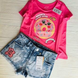 Крутые футболки #childrensplace c пайетками ❤️❤️❤️ ----------. Славянск, Донецкая область. фото 6