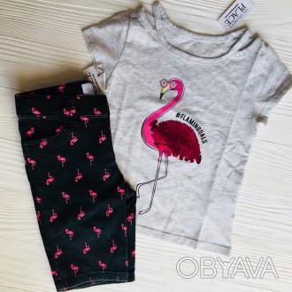 Крутые футболки #childrensplace c пайетками ❤️❤️❤️ ----------. Славянск, Донецкая область. фото 1