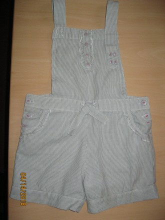 Продам оригинальный комбинезон -шорты для девочки 4-6 лет р.110см.. Чернигов. фото 1