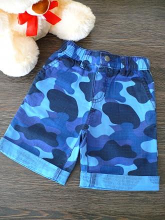 Коттоновые шорты на мальчика Gymboree 2T. Тернополь. фото 1