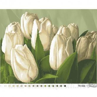Схема для вышивки бисером Тюльпаны ТК006. Белая Церковь. фото 1