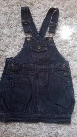 Джинсовий сарафан, Ori Jeans, 86см. Ужгород. фото 1