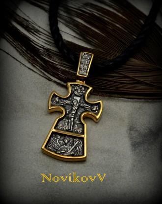 Акимовские,эксклюзивные кресты под заказ,золото с чернением 585,750*,серебро с ч. Днепр, Днепропетровская область. фото 2