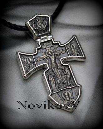 Акимовские,эксклюзивные кресты под заказ,золото с чернением 585,750*,серебро с ч. Днепр, Днепропетровская область. фото 6