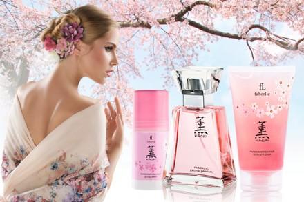 Парфюмерная вода для женщин Kaori Фаберлик. Гребенка. фото 1