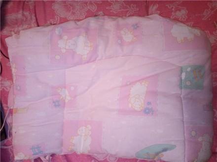 Защита (бампер) на детскую кроватку для новорожденных + постельное+ ба. Сумы. фото 1