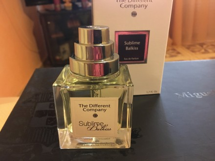 The different company sublime balkiss нишевый парфюм The Different Company Subl. Измаил, Одесская область. фото 2