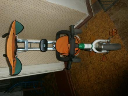 Продам детский велосипед с ручкой. Запорожье. фото 1
