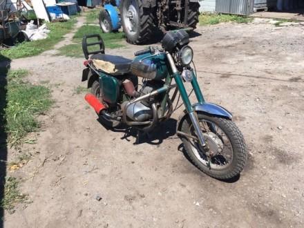 Мотоцикл Java. Белая Церковь. фото 1