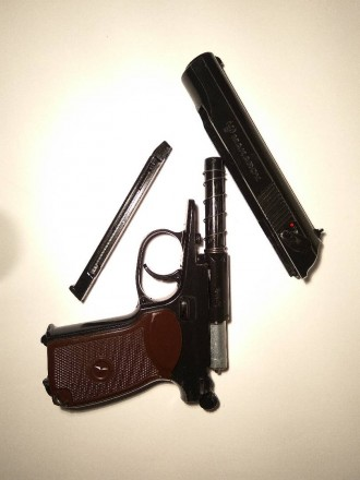 Пистолет makarov umarex. Борислав. фото 1