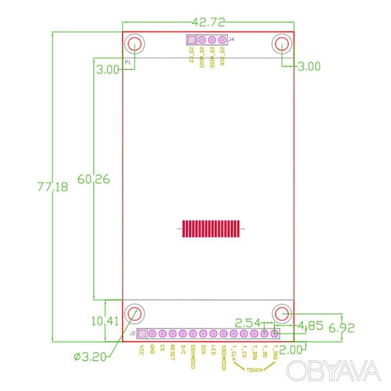 TFT LCD 2, 4