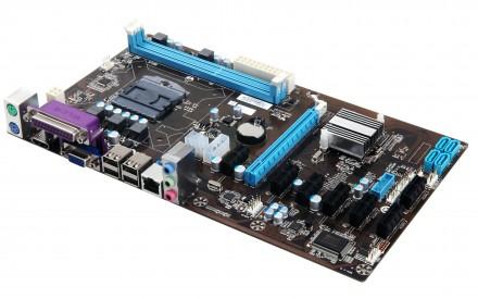 Материнская плата на 8 Видеокарт 11900р 8 PCIE BTC+Процессор Celeron. Донецк. фото 1