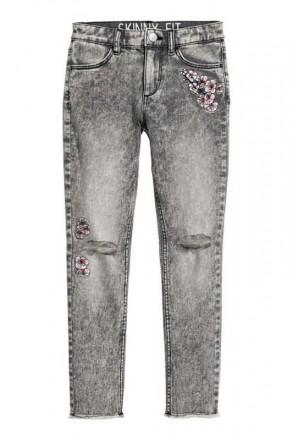 Стильные скинни джинсы на девочку, h&m, германия. Винница. фото 1