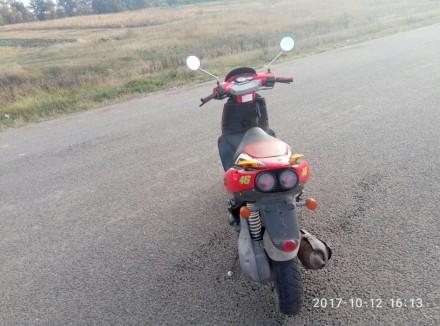 Надежный скутер, валит как дурной,резвый старт, пластик на 4/5 есть незначительн. Знаменка, Кировоградская область. фото 4