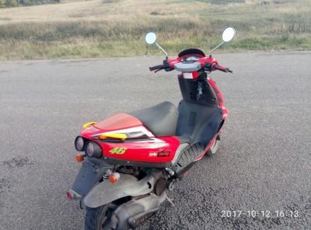 Надежный скутер, валит как дурной,резвый старт, пластик на 4/5 есть незначительн. Знаменка, Кировоградская область. фото 3