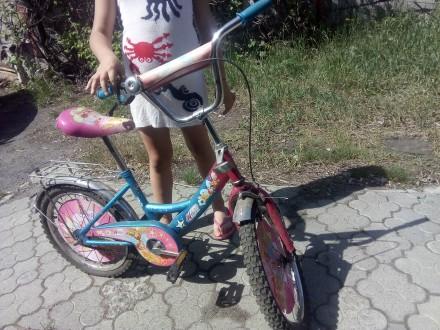 """Продам детский велосипед    """"Winx"""" для ребенка . для детей возрастом от 6 до 9 . Днепр, Днепропетровская область. фото 3"""