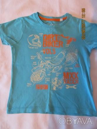 летние футболки после одного ребёнка  ,привезённые с Германии,в отличном состоян. Одесса, Одесская область. фото 1