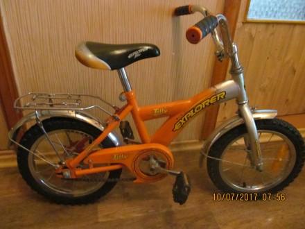 Велосипед двухколёсный Tilli Explorer. Одесса. фото 1