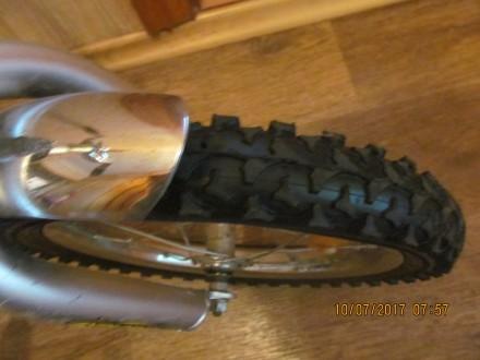 велосипед двухколёсный Tilli Explorer с новыми шинами ,имеется багажник и ножной. Одесса, Одесская область. фото 3