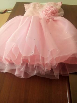 Продам красивое нарядное платье ручной работы. Комбинированное платье - вязанный. Днепр, Днепропетровская область. фото 8