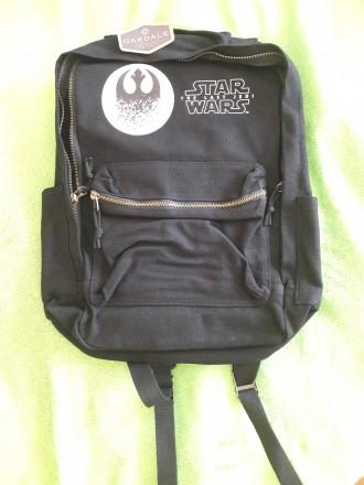 Качественный фирменный рюкзак Star Wars. Размер 43х30x12см. Материал- ткань.усил. Днепр, Днепропетровская область. фото 3
