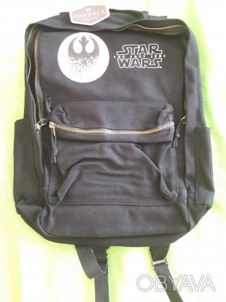 Качественный фирменный рюкзак Star Wars. Размер 43х30x12см. Материал- ткань.усил. Днепр, Днепропетровская область. фото 1