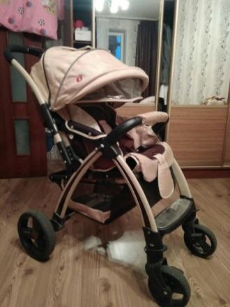 Продам в  отличном состоянии коляску Baciuzzi B20 beige. Николаев. фото 1