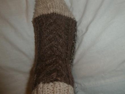 В'язані шкарпетки ручної роботи.. Кропивницкий. фото 1