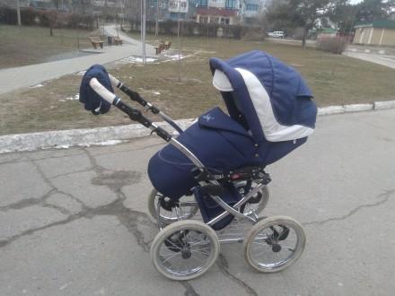 Продам шикарную коляску от польского производителя Balila. Коляска очень удобная. Киев, Киевская область. фото 4