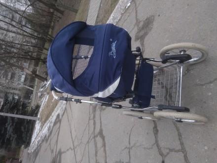 Продам шикарную коляску от польского производителя Balila. Коляска очень удобная. Киев, Киевская область. фото 3