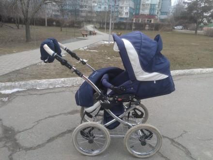 Продам шикарную коляску от польского производителя Balila. Коляска очень удобная. Киев, Киевская область. фото 2
