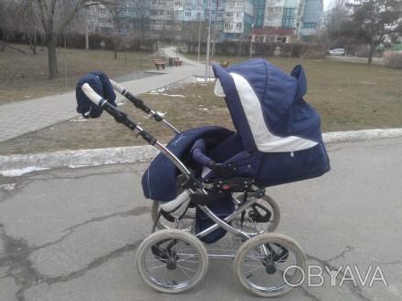 Продам шикарную коляску от польского производителя Balila. Коляска очень удобная. Киев, Киевская область. фото 1