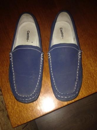 Продам весенние туфли для мальчика в отличном состоянии  материал экокожа длина . Житомир, Житомирская область. фото 2