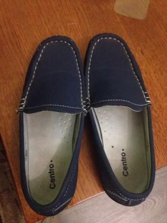 Продам весенние туфли для мальчика в отличном состоянии  материал экокожа длина . Житомир, Житомирская область. фото 3