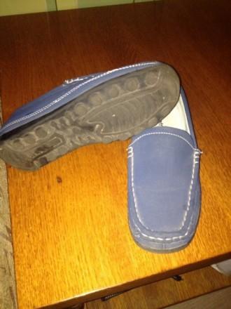 Продам весенние туфли для мальчика в отличном состоянии  материал экокожа длина . Житомир, Житомирская область. фото 4