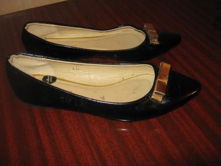 Балетки для девочки New look. Кременчуг. фото 1