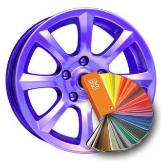 Порошковая покраска дисков и других металлических деталей. Днепр. фото 1