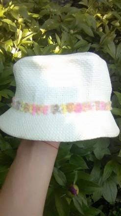 Симпатичная шляпка для девочки в идеальном состоянии, размер 52 без дефектов, п. Буск, Львовская область. фото 5