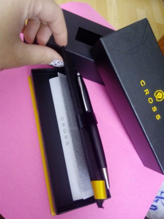 """Новая ручка американской фирмы """"cross"""". Лимитованая серия! Ручка с пожизненной г. Винница, Винницкая область. фото 6"""