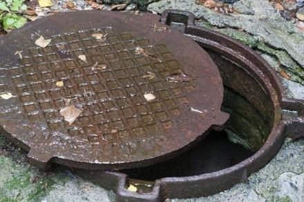 Люк чавунний важкий ТМ із замком С250 (Тепломережа). Черновцы. фото 1