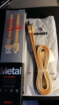 USB кабель remax rc-044. Голованевск. фото 1
