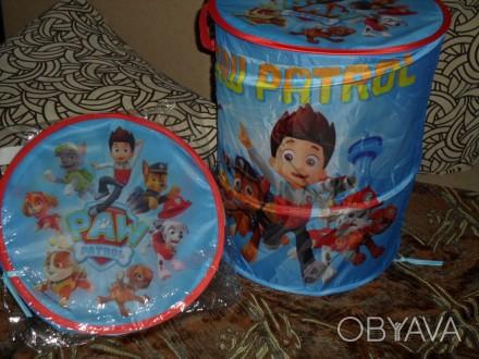 Корзина для игрушек, диаметр 38 см., высота 43 см... Житомир, Житомирская область. фото 1