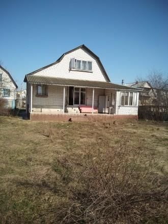 Продам дом (дача) 124 м2, участок 5 сот. Зазимье сады. Броварской ра-н. Бровары. фото 1