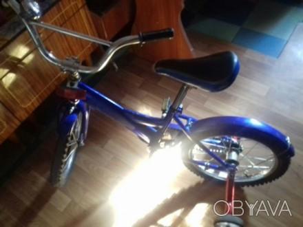 продам велосипед детский на ходу переднее колесо лысоватое. Желтые Воды, Днепропетровская область. фото 1