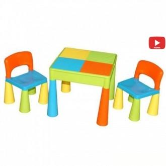 Столик и два стульчика Tega Baby Mamut - красивый и удобный комплект детской меб. Киев, Киевская область. фото 3